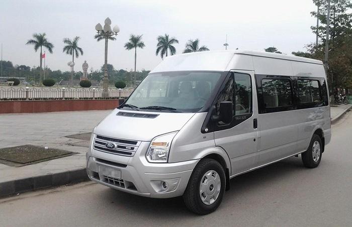 dịch vụ cho thuê xe du lịch 16 chỗ có tài